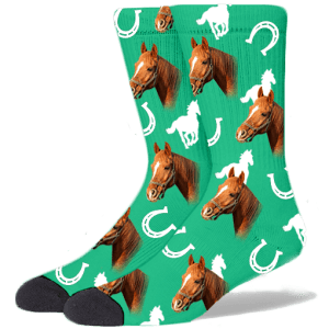 Custom Horse Socks - Put Your Horses Face On Socks | The