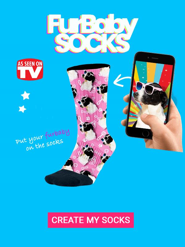 Custom Pet Socks Banner Compressed