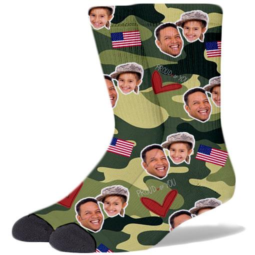 Custom Army Products Socks