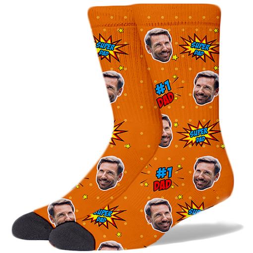 Dad Product Socks ORANGE