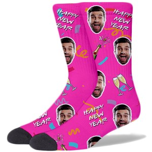 New Year Product Socks HOT PINK
