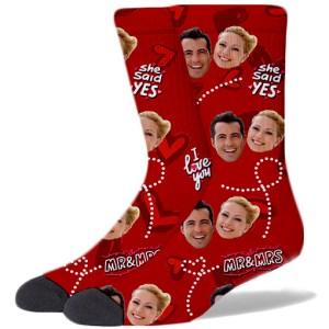 Wedding Product Socks ROSE