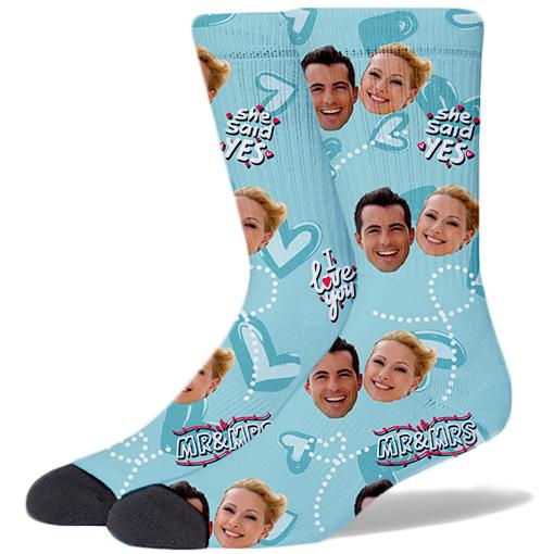 Wedding Product Socks TIFFANY