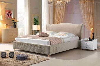 A8638-high quality upholstered fabric bed made by china luxury and modern furniture factory and company-furbyme