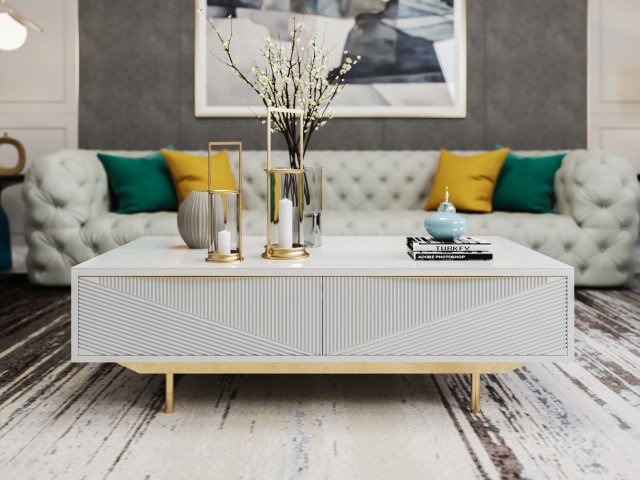 byf463China Modern High end Design Luxury Living Room Furniture Coffee Table