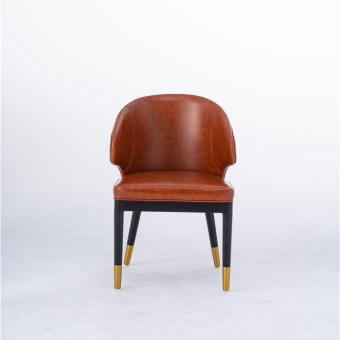 722china modern design home kitchen leather dining chair supplier manufacturer-furbyme (1)