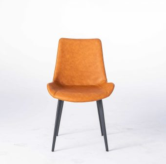 dkf15china contemporary modern home furniture kitchen leather fabric dining chair manufacturer (1)