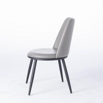 dkf43-china modern design home kitchen metal leather dining chair supplier manufacturer-furbyme (1)