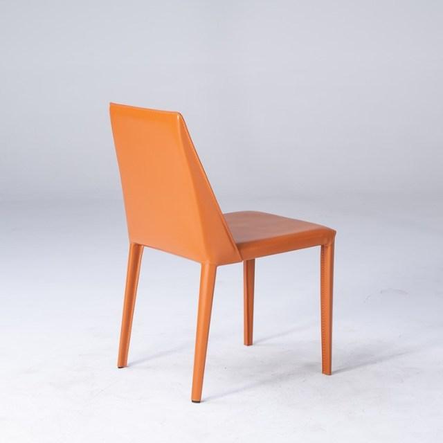 dkf45-china modern design home kitchen metal leather dining chair supplier manufacturer-furbyme (1)