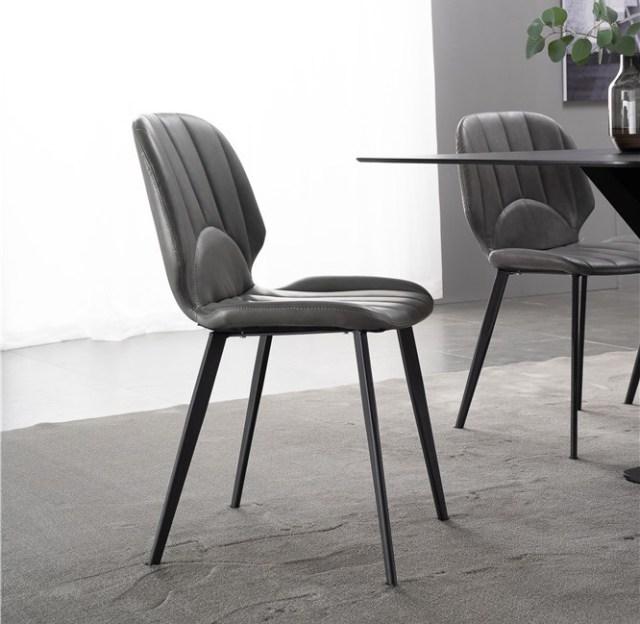 dkf49-china modern design home kitchen metal leather dining chair supplier manufacturer-furbyme (1)