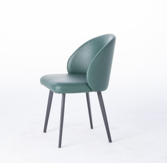 dkf728-china modern design home kitchen metal leather dining chair supplier manufacturer-furbyme (1)