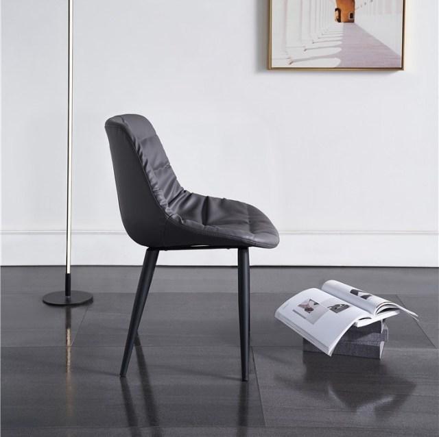 dkf75-china modern design home kitchen metal leather dining chair supplier manufacturer-furbyme (2)
