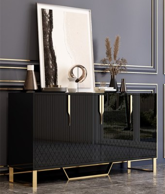19-68china luxury home furniture storable metal wood side drawer table manufacturer supplier-furbyme (1)