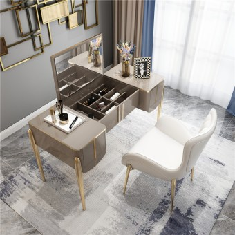 1969-china luxury home furniture storable metal dressing table set manufacturer supplier-furbyme (2)