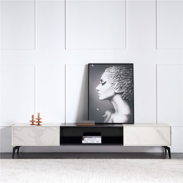 206china modern luxury home furniture wood sintered stone coffee table tv cabinet set company supplier manufacturer (7)