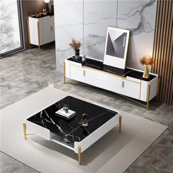 219china luxury home furniture storable stainless steel tv cabinet coffee table manufacturer supplier factory-furbyme (5)