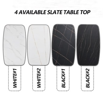 4 AVAILABLE SLATE TABLE TOP-FURBYME