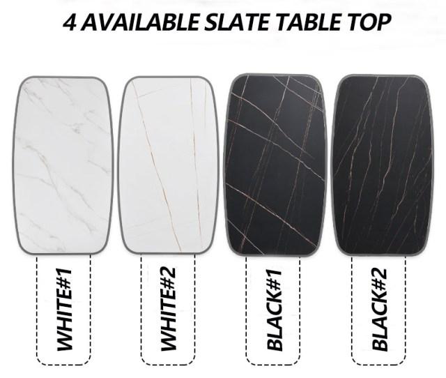 4 AVAILABLE SLATE TABLE TOP-FURBYME