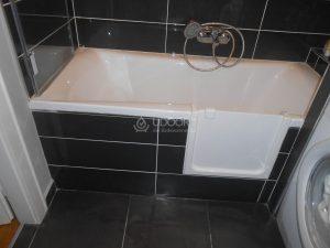 Akril fürdőkádra beszerelt kádajtó