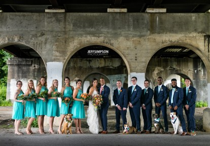 Steph, Rudy, Nora, Ares, Apollo & Ralphie| Jeff Simpson Photography