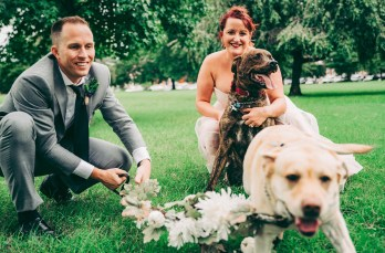 Claire, Kevin, Charley & Boo| Natalie Landrum Photography