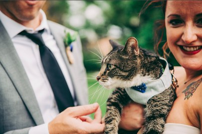 Claire, Kevin & Sgt Whiskers  Natalie Landrum Photography
