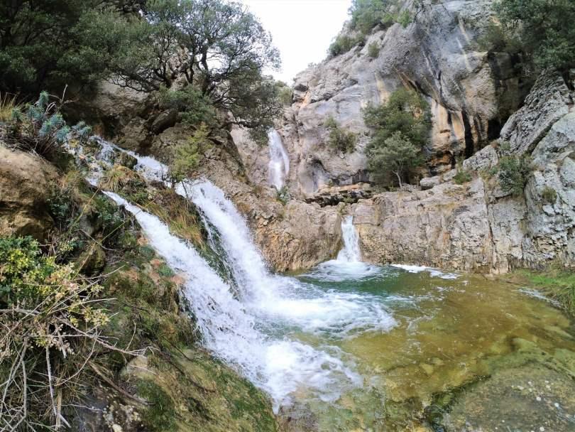 Nacimiento río cérvol, Morella