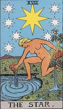 星のタロットカード