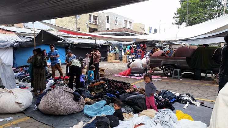 Santiago's excellent secondhand clothes market