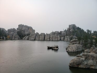 THE MOST SURREAL LAKE in Custer State Park in the Black Hills