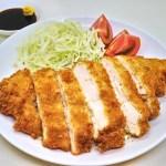 鶏胸肉を丸ごと揚げる!外はカリッと中はしっとり『肉厚チキンカツ』のレシピと作り方