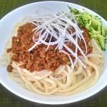 ジャージャー麺『炸醤麺(ザー・ジャン・ミエン)』のレシピと作り方