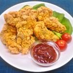 アメリカの定番料理『チキンフィンガー』のレシピと作り方
