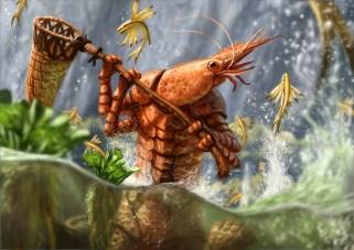 Shrimpman Wants a Pet Fish