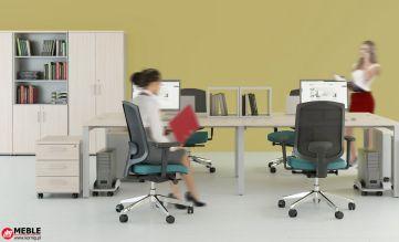 Nowoczesny system VIK ART z biurkami modułowymi