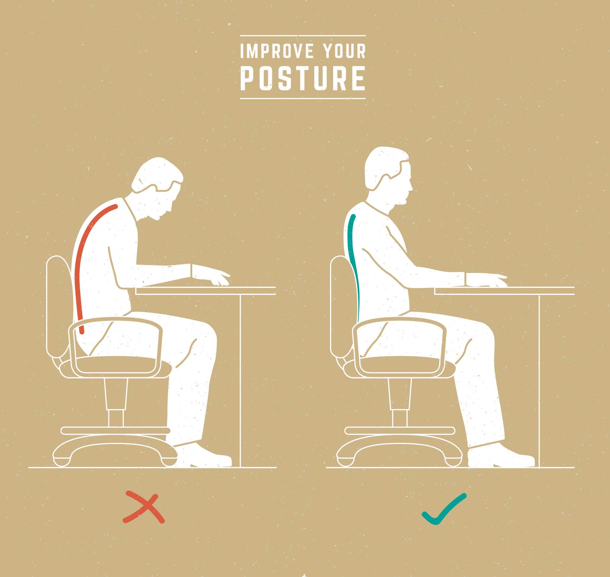 Improve your posture-office chair