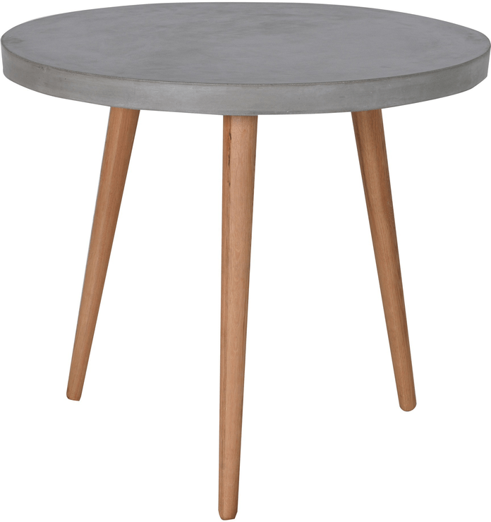 Round Concrete Top Dining Table Dining Tables