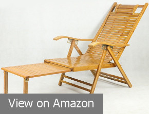 MEIDUO Chaise Bamboo Lounge