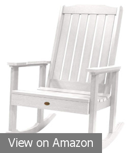 Highwood Lehigh White Rocking Chair