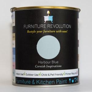 Furniture Revolution – Superior Finish – Furniture & Kitchen Paint – Harbour Blue