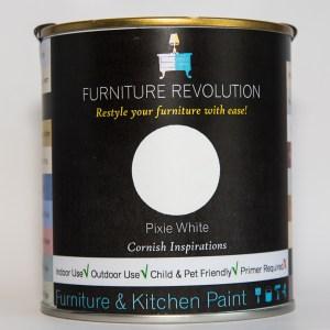 Furniture Revolution – Superior Finish – Furniture & Kitchen Paint – Pixie White