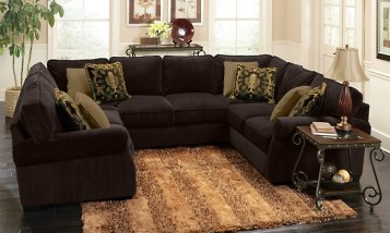 Brown Sectional Sofa