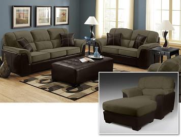 Hustle III 4 Piece Living Room Set
