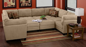 Mustang 10 Pc. Sectional Package
