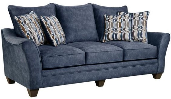 Athena Navy 3 Pc. Living Room from The RoomPlace
