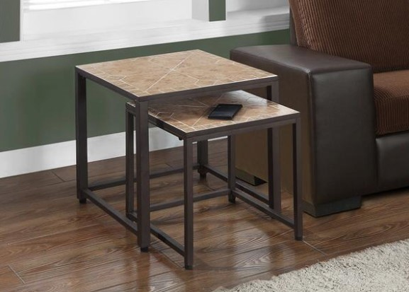Norden 2 Pc. Nesting Tables from The RoomPlace