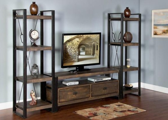 """Sierra 3 Pc. 54"""" Entertainment Wall from The RoomPlace"""