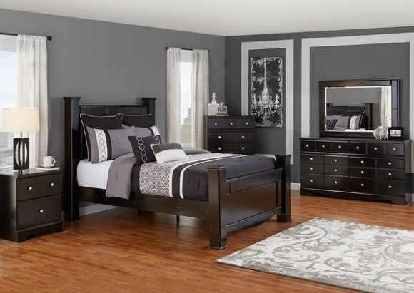 Somerset 5 Pc. Queen Bedroom Set from The RoomPlace