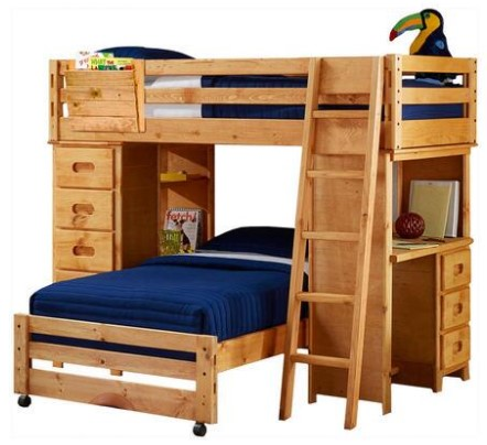 Sundance 7 Pc. Loft Bunk Bed from The RoomPlace