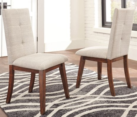 Image: White Fullerton Side Chairs from The RoomPlace